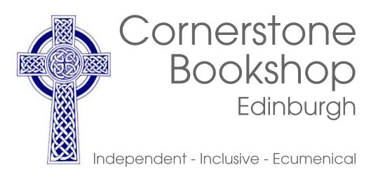 Cornerstone Bookstore Edinburgh